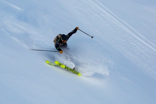 Come and try the new freeride Blackops ski Rossignol at Snowlegend chalet La Grave